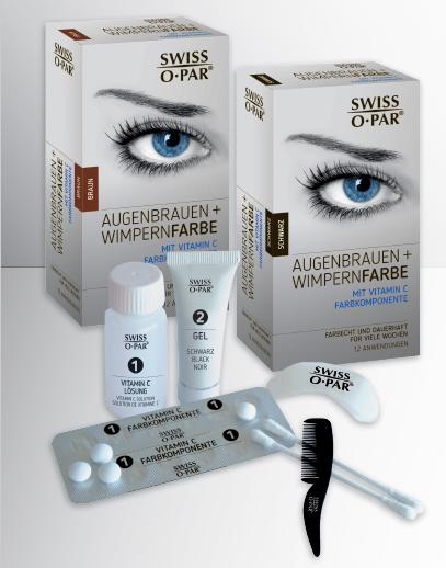 beste Augenbrauen und Wimpernfarbe