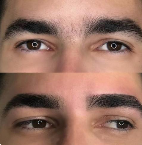 Augenbrauenform männer